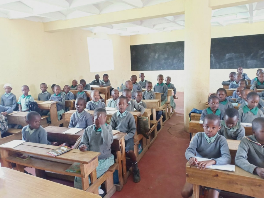 Kenya Power has constructed a classroom at Mwihoko Primary School through the Corporate Social Investment, Wezesha Programme