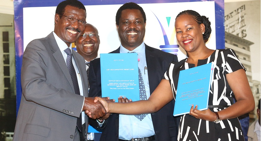 Kenya Power awards contracts for implementation of the last mile project