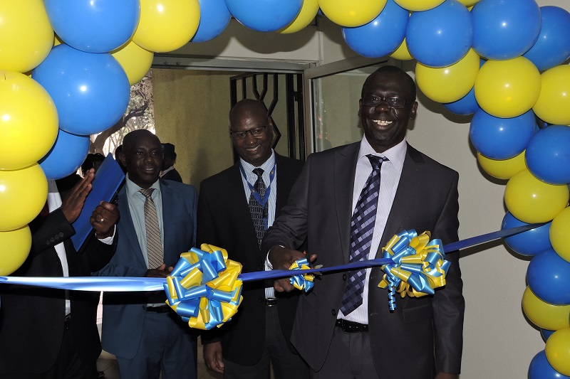 Ag. MD & CEO Eng. Jared Othieno officially launching our refurbished Electricity House Customer Service Centre - 24.09.2018