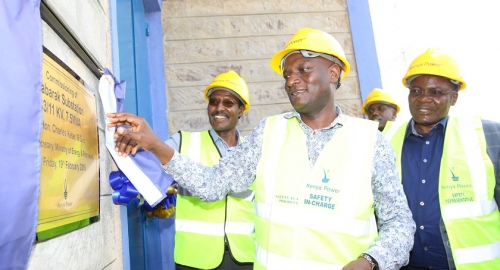 Commissioning of Kabarak Substation