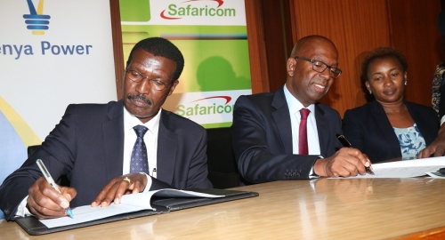 Kenya Power signs MOU with Safaricom